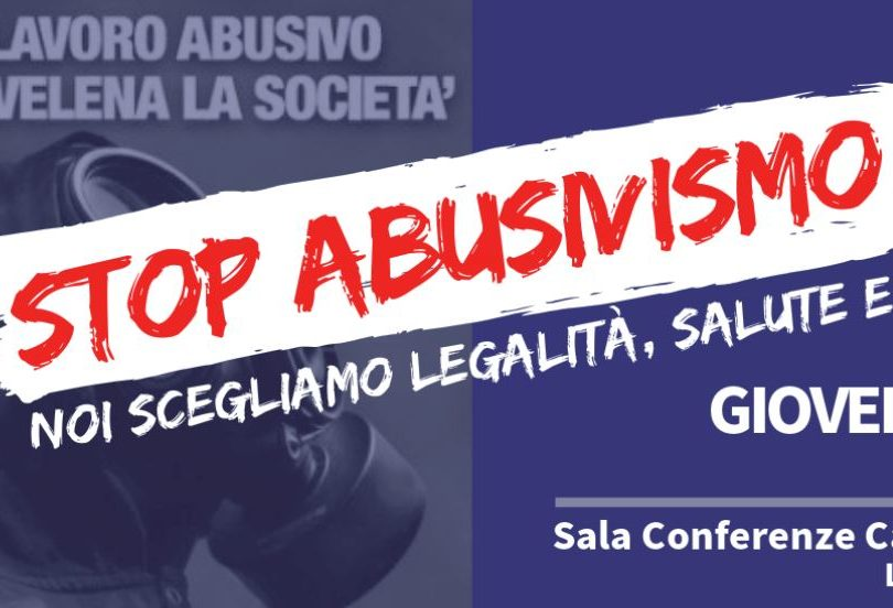 """Conferenza su: """"STOP ABUSIVISMO"""""""